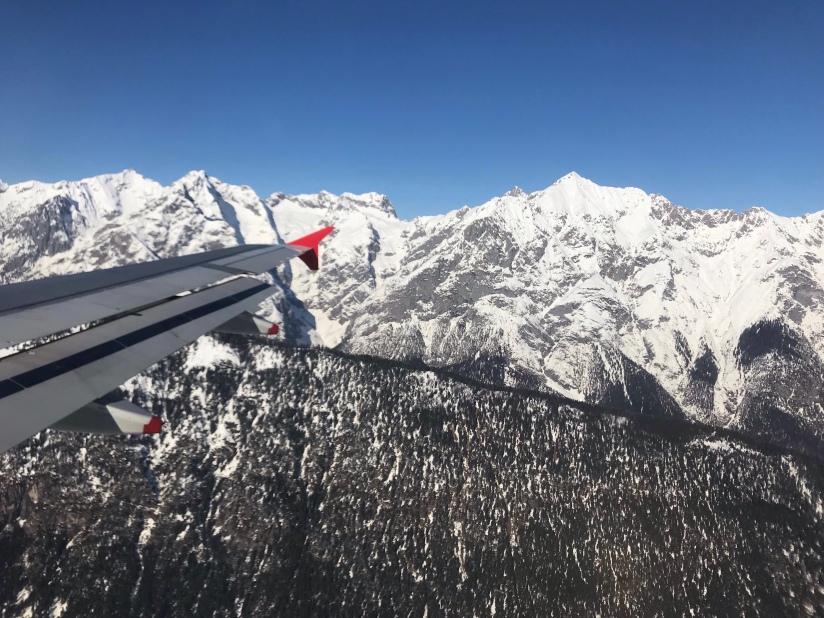 Coming into Innsbruck